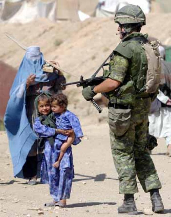 Militare in Afghanistan