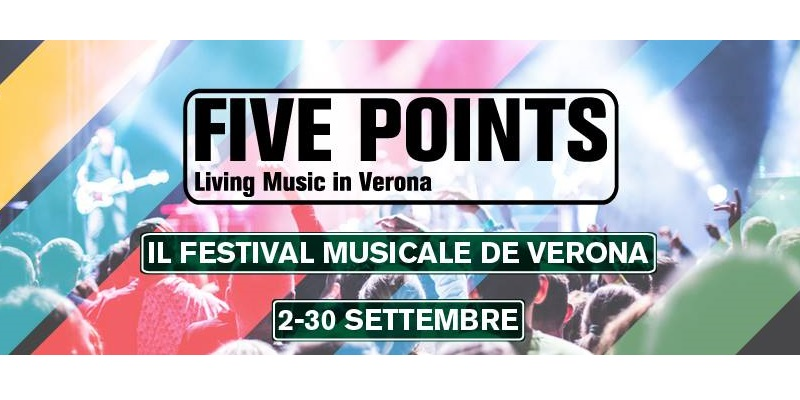 Festival Five Points - Living music in Verona