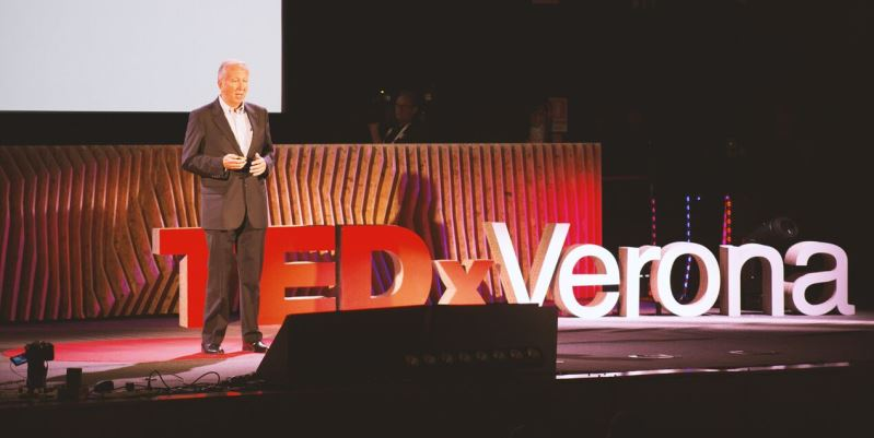 "It's ""time to rock"" a Tedx Verona"