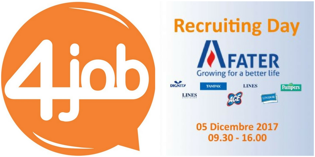 Recruiting day con Fater Spa e 4job