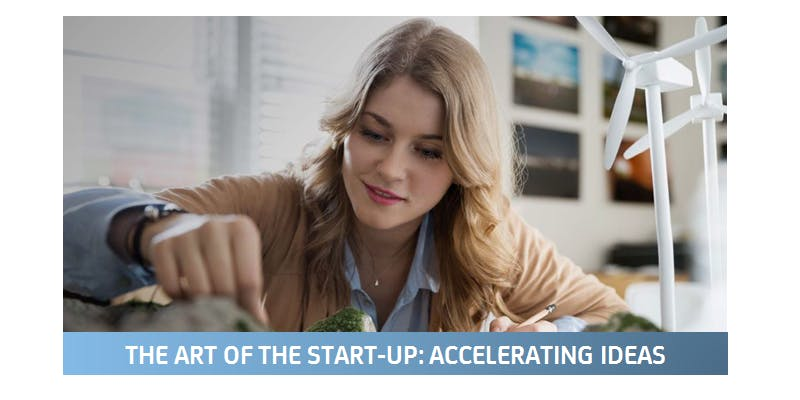 The art of the start-up: accelerating ideas