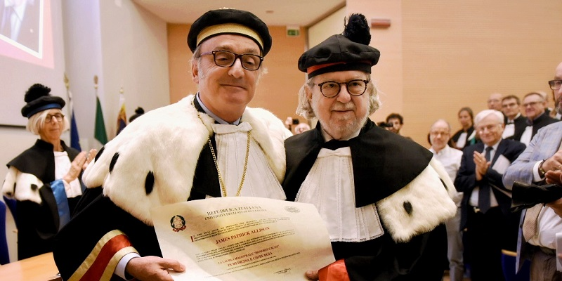 Laurea honoris causa a James P. Allison